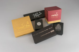 Hot Foil Printed Boxes